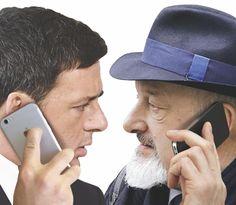 """SCRIVOQUANDOVOGLIO: LA TELEFONATA:RENZI CHIAMO' PAPA' TIZIANO """"NON DIR..."""