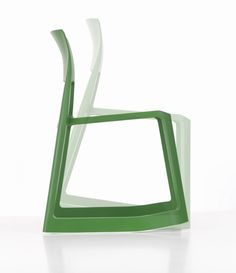 Vitra Tip Ton Chair by Barber Osgerby. Tip Ton defines a whole new chair typology: the solid plastic chair with forward-tilt action. Tip Ton's name refers to the two types of sitting experiences that characterise the chair Chairs For Rent, Chairs For Sale, Chair Design, Furniture Design, Office Furniture, Ton Chair, Wrought Iron Patio Chairs, Metal Chairs, Cafe Chairs
