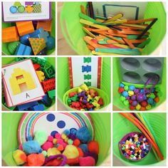 Explore Tubs! {freebies} - awesome idea for morning work!!!