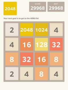 I scored 29968 points at 2048, a game where you join numbers to score high! @2048_game https://itunes.apple.com/app/2048/id840919914