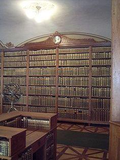 Archbishop's Library, Kalocsa, Hungary.