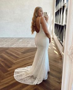 Scottie's unique lace and plunging back will mesmerise you into a beautiful trance. Wedding Goals, Wedding Day, Bride Look, Scottie, Our Girl, Bridal Boutique, Formal Dresses, Wedding Dresses, Halo