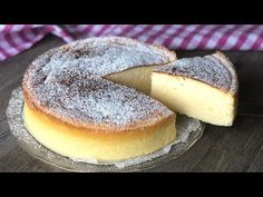 Tarta de queso de 3 ingredientes. ¡Esponjosa como una nube! - YouTube Brownie Recipes, Cake Recipes, Dessert Recipes, Round Cake Pans, Round Cakes, Cheesecake Facil, Easy Desserts, Delicious Desserts, 3 Ingredient Cheesecake