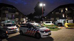 politieactie Marimbalaan - foto Koen Laureij 1