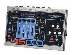 Electro-Harmonix 45000 Multi-Track Looping Recorder Guitar Effects Pedal Guitar Effects Pedals, Guitar Pedals, Bass Pedals, Trombone, Reggie Watts, Composition, Album, Track, Audio