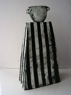 Paul Cox ~ ceramic and mixed media