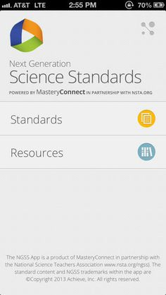 View the Next Generation Science Standards in one convenient FREE app! A great reference for teachers, parents, and students to easily read ...