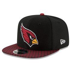 brand new 14167 28aa6 Arizona Cardinals New Era 2017 Sideline Official 9FIFTY Snapback Cap