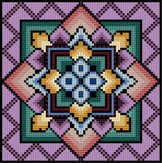 Inspirational innovations that we genuinely like! Bargello Needlepoint, Needlepoint Stitches, Crochet Stitches Patterns, Counted Cross Stitch Patterns, Cross Stitch Designs, Cross Stitch Embroidery, Embroidery Patterns, Cross Stitch Pillow, Needlepoint Designs