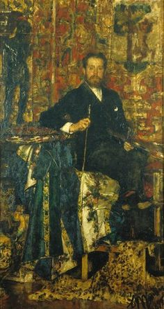 Antonio Mancini 1852-1930 | Italian Academic painter