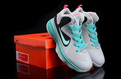 Lebron 9 Kids Miami Vice South Beach with a retro touch.