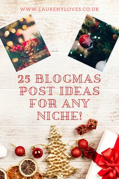 25 Blogmas Post Ideas You Need To Use Laureny Loves In 2020 Christmas On A Budget Christmas Craft Projects Christmas Jumper Day