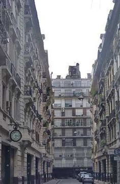 Buenos Aires, Argentina. Pasaje Rivarola Street