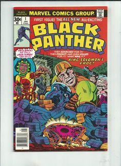 BLACK PANTHER (V1) #1 Grade 8.5 gem w/story, cover & art by Jack Kirby! http://r.ebay.com/1VwrlA
