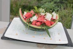 Melonen - Rucola - Salat mit Feta 1