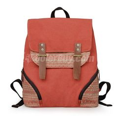 Men/Women Print Canvas Backpacks/Rucksack/School Bag/Laptop Bag