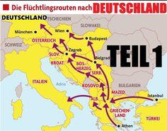 Die Flüchtlingslüge (1) - Reporterteam folgt Flüchtlingen auf der Balkan...