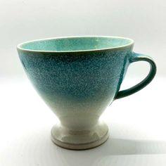 Mug Aqua by Karin Boeckmann Aqua, Winterthur, Mugs, Tableware, Teacup, Tea Gifts, Handmade, Nice Asses, Water