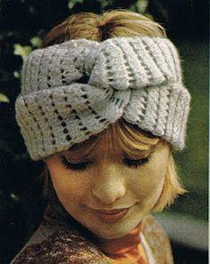 Vintage Crochet Turban Tutorial