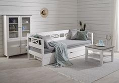 Vuodesohvasta on moneksi Decor, Furniture, Loft, Loft Bed, Home Decor, Bed