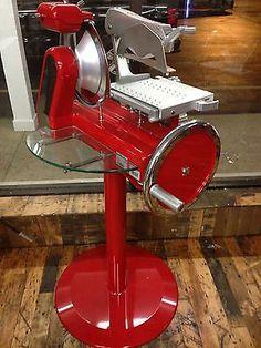 Hand Crank (flywheel) Meat Slicer - Van Berkel Vintage Style