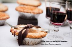 Pippen Charlemagne - pie wedding favors?