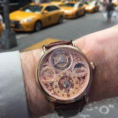 Memorigin in Manhattan #watch #memorigin #mensstyle #manhattan #tourbillon #instagood by edwardscheckler