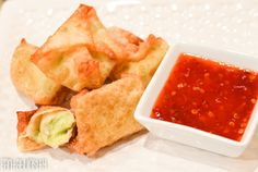 """Guacamole Wontons Recipe""  Holy Moly these are yummy!!! http://fantabulosity.com"