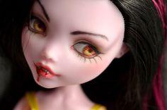 OOAK Monster High Draculaura Vampire Doll Repaint by MadeleineMaiStudio on Etsy https://www.etsy.com/listing/211613337/ooak-monster-high-draculaura-vampire