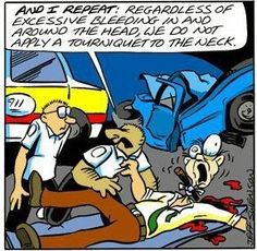 A very good thing to remember! Was this mentioned in training? EMT 101; EMT lol