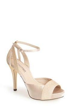 Menbur 'Arenales' Satin Ankle Strap Sandal (Women) available at #Nordstrom