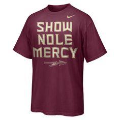 "Nike ""Show Nole Mercy"" (Florida State) Men's T-Shirt"