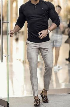 Trendy Mens Fashion, Stylish Mens Outfits, Mens Fashion Suits, Fashion Menswear, Men's Formal Fashion, Stylish Suit, Petite Fashion, Fashion Pants, Casual Outfits