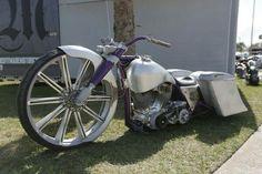 Daytona Bike Week - Misfit Industries' alloy Road King
