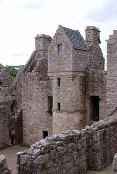 Tolquhon Castle, Scotland
