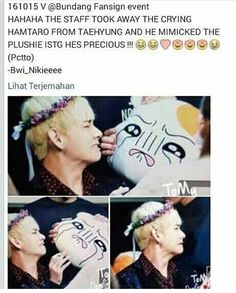 HES TRYING SO HARD TO IMITATE THE PLUSHIE JFC