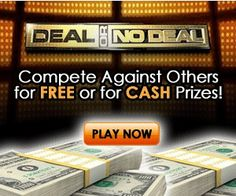 Play the Deal or No Deal Instant Win Game and compete for cash and prizes, just like contestants on the actual game show.