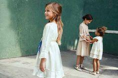 vestidos ceremonia y arras, moda niña, El Corte Ingles