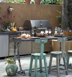 alfresco kitchen