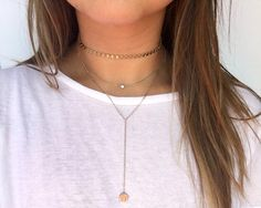 LÉONE Choker Necklace by LOULOUTE – a customer fave, this choker is so fun to layer!