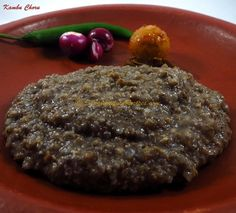 Boiled Pearl Millet - Kambam Choru   Simple Indian Recipes