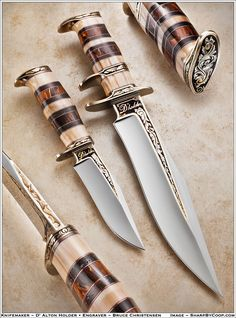 Handmade Knives | D'Alton Holder, Terry Betts, Mike Zscherny, Jeffrey Cornwell