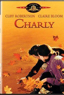"""BEST ACTOR:  (1968)  CLIFF ROBERTSON  in   """"Charly"""" A retarded man undergoes an experiment that gives him the intelligence of a genius. Stars:  Cliff Robertson, Claire Bloom, Lilia Skala"""