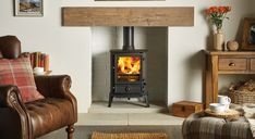 Brunel 2CB Wood Burning Stoves & Multi-fuel Stoves - Stovax Stoves