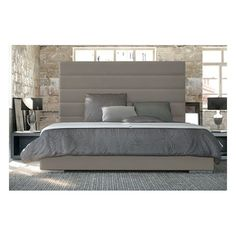 Found it at AllModern - Prince Upholstered Panel Bed