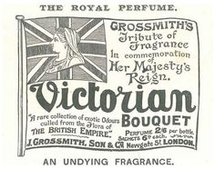 Grossmith's perfume dedicated to Queen Victoria for her Diamond Jubilee