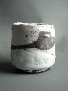 chawan tea bowl raku by Zamikhovsky on Etsy, €55.00