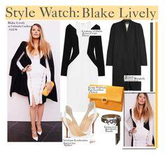"""Style Watch:Blake Lively..."" by nfabjoy ❤ liked on Polyvore featuring Gabriela Cadena, Maison Margiela, Cushnie Et Ochs, Christian Louboutin, GUINEVERE, fashionWeek, blakelively and CelebrityStyle"