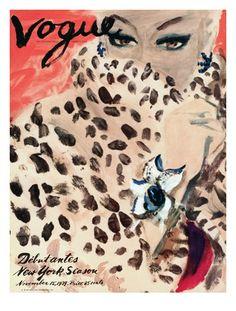 vintage vogue magazines posters - Google Search