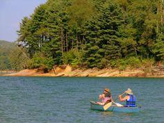 3. Rent a pontoon and enjoy a day on Watauga Lake.
